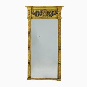 Large Antique English Regency Mirror, 1810s