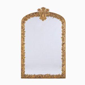 19th-Century French Gilt Mirror