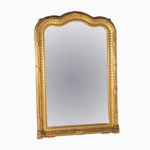 Großer vergoldeter Spiegel, 19. Jh.