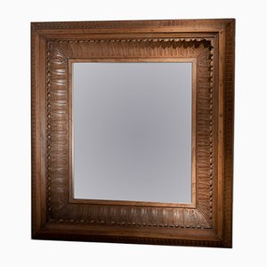 19th-Century Deep Frame Mirror