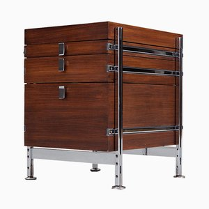Mahogany Chest of Drawers by Jules Wabbes for Mobilier Universel, 1960s
