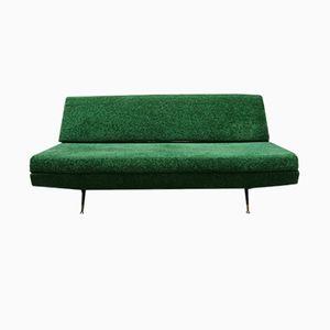 Divano verde, anni '50