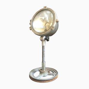 Lampada da tavolo industriale vintage