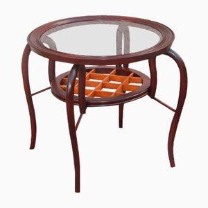 Italian Coffee Table in Shaped Wood, 1950s