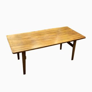 Table Basse Mid-Century en Acajou, 1970s