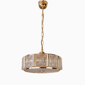 Lámpara colgante vintage de Carl Fagerlund para Orrefors, años 60