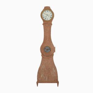 Reloj antiguo grande pintado