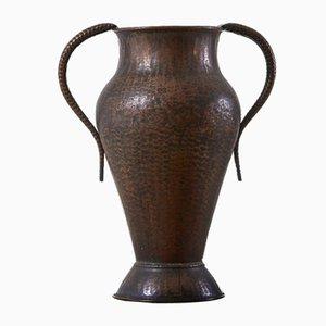 Vase Décoratif en Cuivre, 1960s