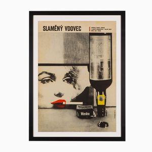 Poster del film Quando la moglie è in vacanza, Repubblica Ceca, Zdeněk Kaplan, 1964