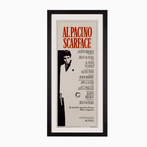 Póster estadounidense de la película Scarface, 1983