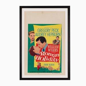 Póster estadounidense de la película Roman Holiday, 1953