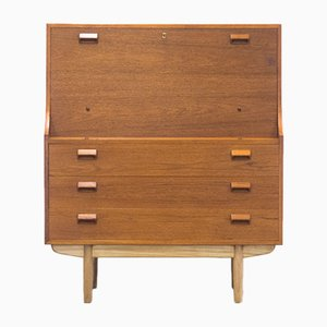 Mid-Century Secretaire by Børge Mogensen for Søborg