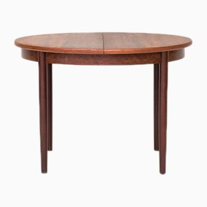 Extendable Rosewood Dining Table, 1950s