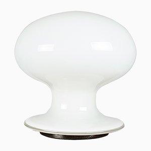 Lámpara de mesa en forma de champiñón de cristal de Murano de Vistosi, años 60