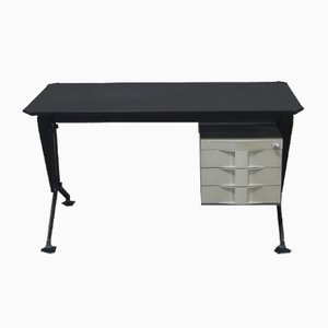 Vintage Arco Desk by BBPR for Olivetti Synthesis