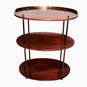 Tavolino in mogano, metà XIX secolo