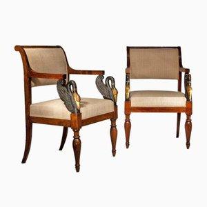 19th Century Italian Chairs, Set of 2