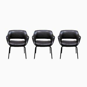 Modell 1106/3 Stühle von Olli Mannermaa für Cassina, 1950er, 3er Set
