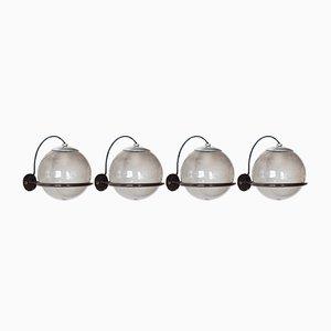 Vintage 238/1 Wandlampen von Gino Sarfatti für Arteluce, 1960er, 4er Set