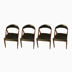 Vintage Model 31 Dining Chairs by Kai Kristiansen for Schou Andersen, Set of 4