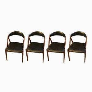 Vintage Modell 31 Esszimmerstühle von Kai Kristiansen für Schou Andersen, 4er Set
