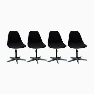 Chaises PSC par Charles Eames pour ICF, 1980s, Set de 4