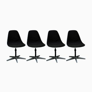 PSC Chairs by Charles Eames for ICF, 1980s, Set of 4
