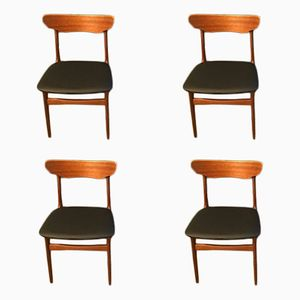 Teak Dining Chairs by Schønning & Elgaard, 1960s, Set of 4