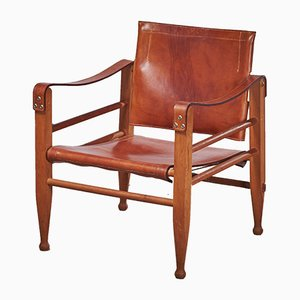 Mid-Century Safari Chair from Aage Bruun and Son