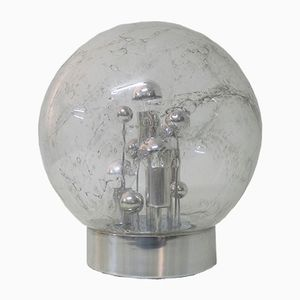 Space Age Bubble Glass Table Lamp from Doria Leuchten