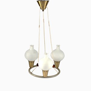 Mid-Century Chandelier by Mogens Hammer & Henning Moldenhawer for Louis Poulsen