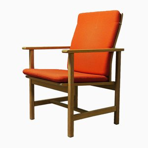 Mid-Century Armchair by Børge Mogensen for Fredericia Stolefabrik, 1960s