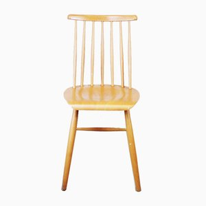 Vintage Wooden Side Chair, 1960s