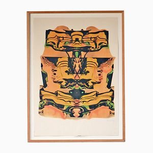 Lithographie Guggenheim Vintage par Pol Bury, 1991