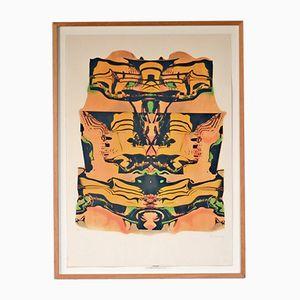 Vintage Guggenheim Lithographie von Pol Bury, 1991