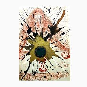 Litografía Biblia Sacra de Salvador Dali para Rizzoli of Rome, 1969
