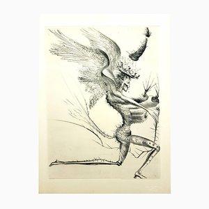 Incisione Venere in pelliccia di Salvador Dali, 1968
