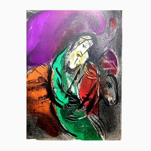 Bibel Lithographie von Marc Chagall für Atelier Mourlot