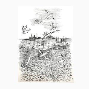 Grabado Freedom de Raoul Dufy, 1940