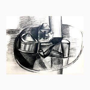 Pochoir Nature Morte à la Pipe par Pablo Picasso, 1962