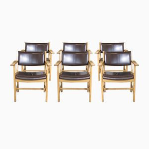 Dining Chairs by Hans Wegner for Getama, 1960s, Set of 6