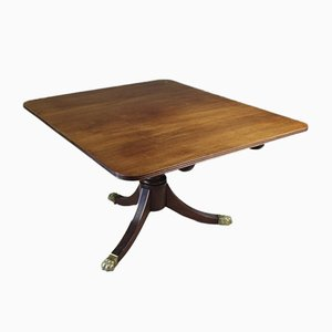 Antiker Tisch aus Mahagoni mit schwenkbarer Tischplatte