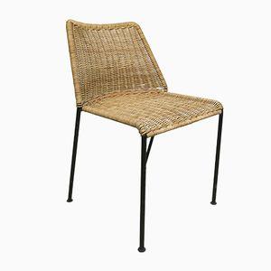 AP30 Stuhl aus Rattan von Herbert Hirche für AP Originals, 1960er