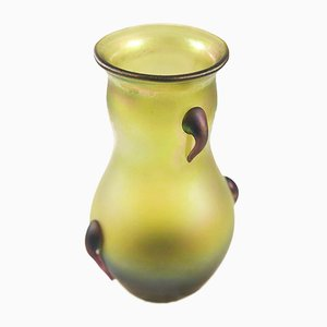 Antique Art Nouveau Vase by Loetz
