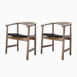 Model JH-203 Armchairs by Hans J. Wegner for Johannes Hansen, 1960s, Set of 2