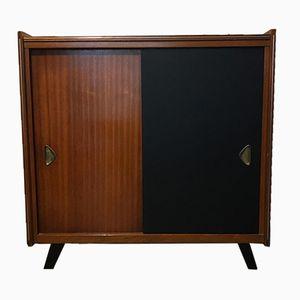 Mueble de almacenamiento escandinavo, años 50