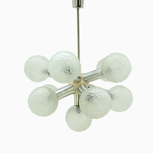 Lámpara de araña Sputnik Mid-Century, años 70