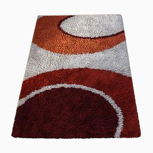 Vintage Teppich mit grafischem Design