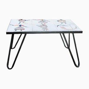 Mid-Century Tisch von Roger Capron