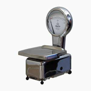 Kitchen Scale in Chrome-Plated Steel from Zenith, 1960s